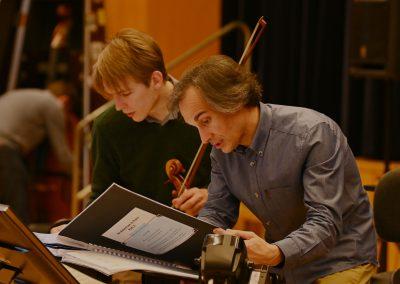 Maestro Gabriele & Benjamin Beck, Principal Viola (Sinfonieorchester Basel)