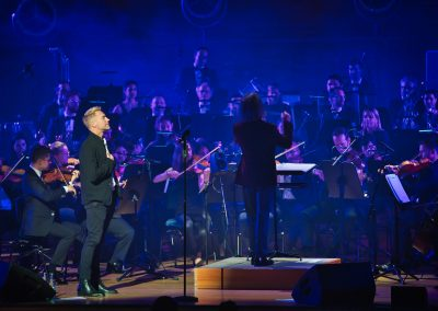 Anthony Gabriele Conductor with Ronan Keating